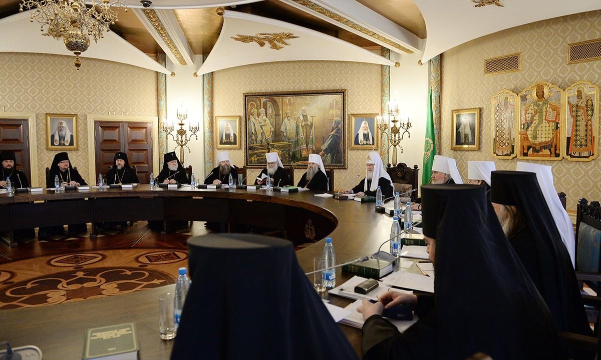 Заседание Высшего Церковного Совета 17 февраля 2015 года4