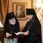 Архиепископ Верейский Евгений (Решетников), архиепископ Егорьевский Марк (Головков)