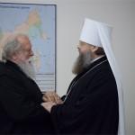 Митрополит Ростовский и Новочеркасский Меркурий (Иванов), протоиерей Лев Махно