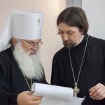Митрополит Ташкентский и Узбекистанский Викентий (Морарь), протоиерей Максим Козлов