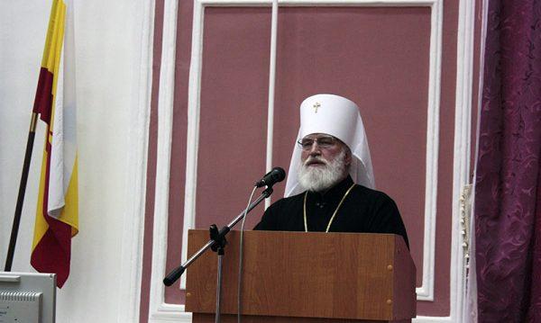 Митрополит Рязанский и Михайловский Павел