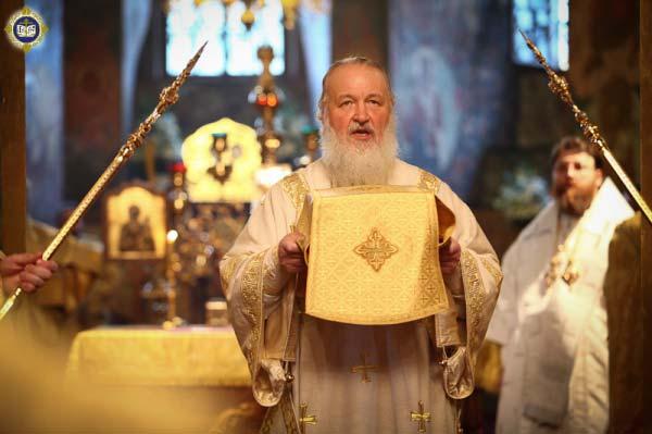 Епископ Ростовский и Новочеркасский Меркурий, Святейший Патриарх Кирилл