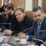Владимир Легойда, диакон Александр Волков