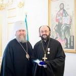 митрополит Астанайский и Казахстанский Александр, игумен Митрофан (Шкурин)