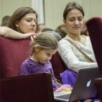 Ребенок, Apple, MacBook