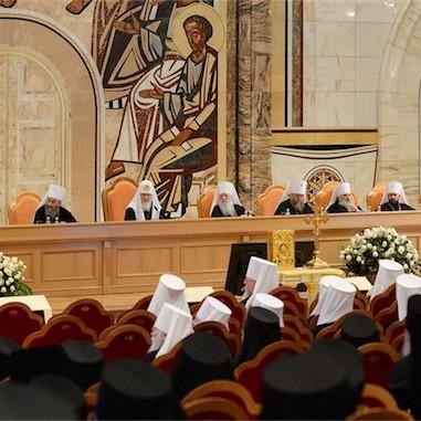 Митрополит Меркурий принял участие в работе Архиерейского Собора Русской Православной Церкви 2016 года