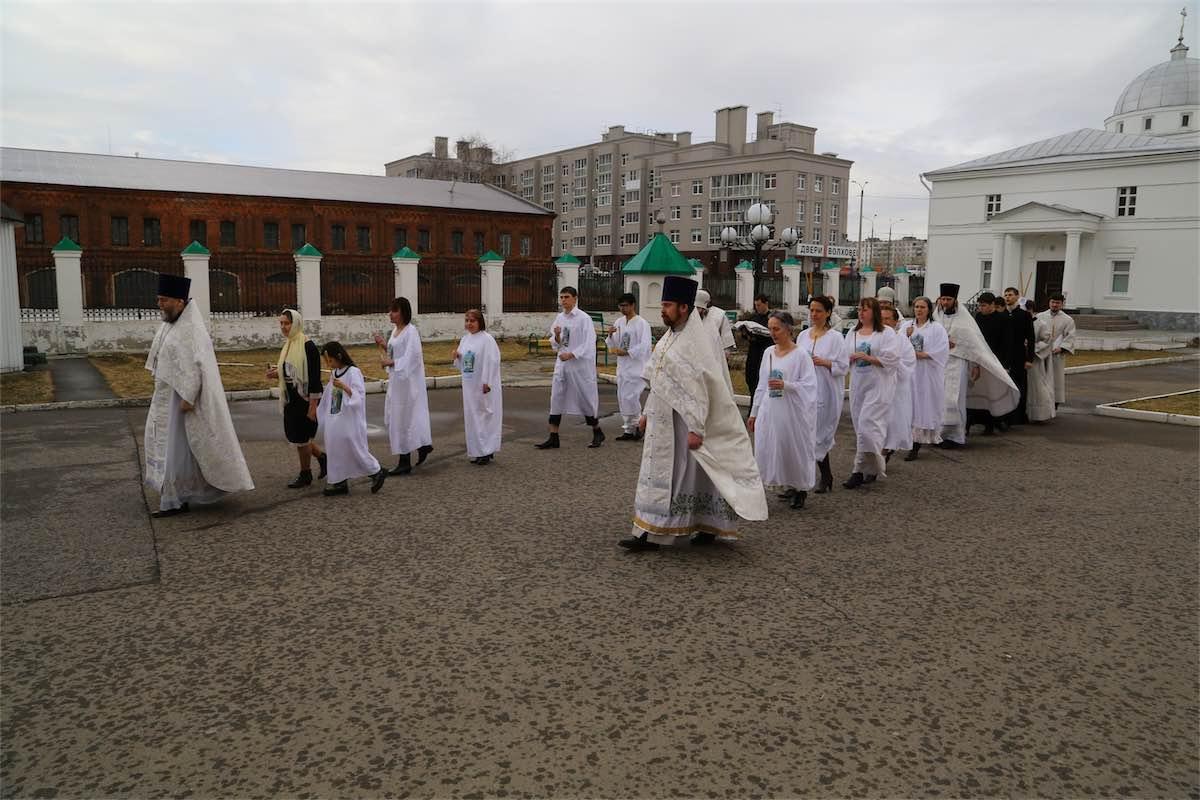 Опыт служения крещальных Литургий Нижегородской епархии