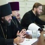 Игумен Митрофан (Шкурин), протоиерей Александр Прытков, иеромонах Геннадий (Войтишко),
