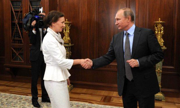 Владимир Путин, Анна Кузнецова