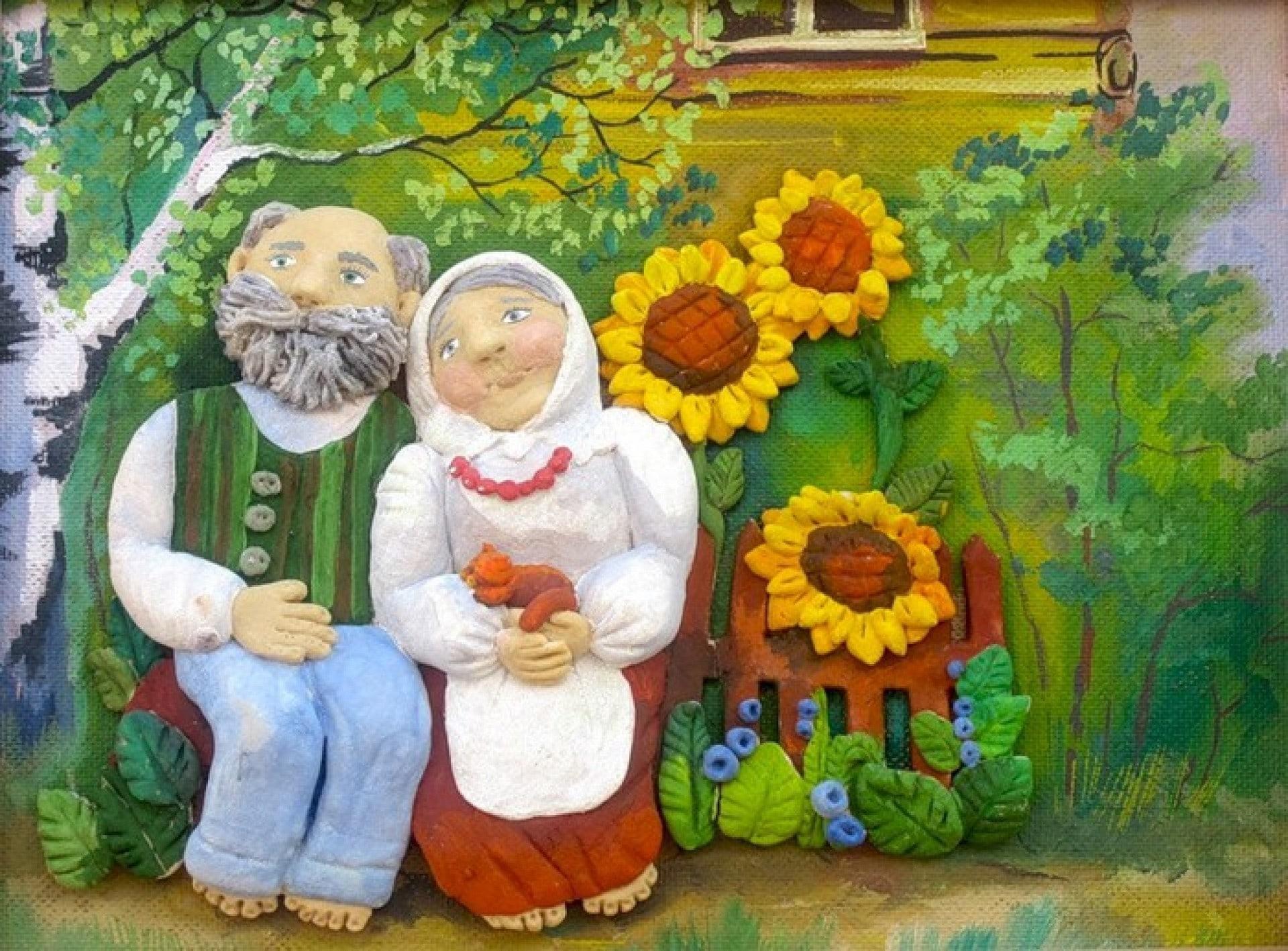 Открытка для пожилых людей к празднику нарисовать, ребенку лет днем