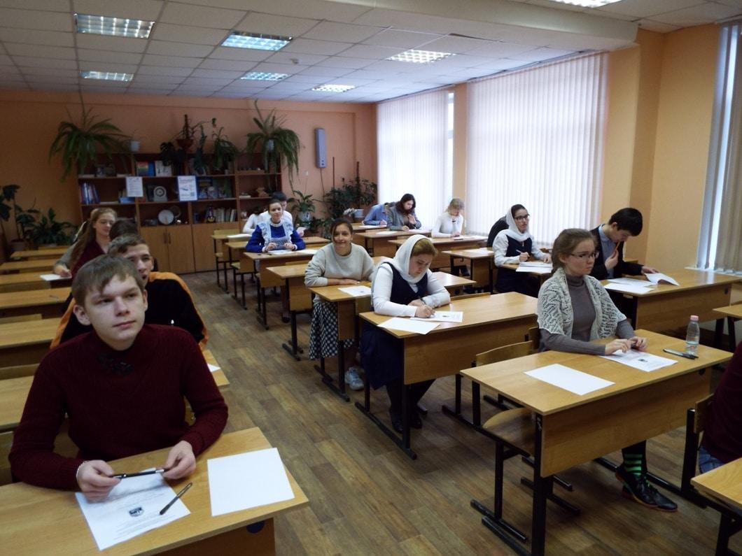 Дети Нижегородской митрополии приняли участие в олимпиаде по Основам православной культуры