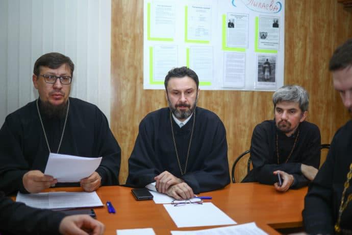 Прошло заседание коллегии ОРОиК Тульской епархии
