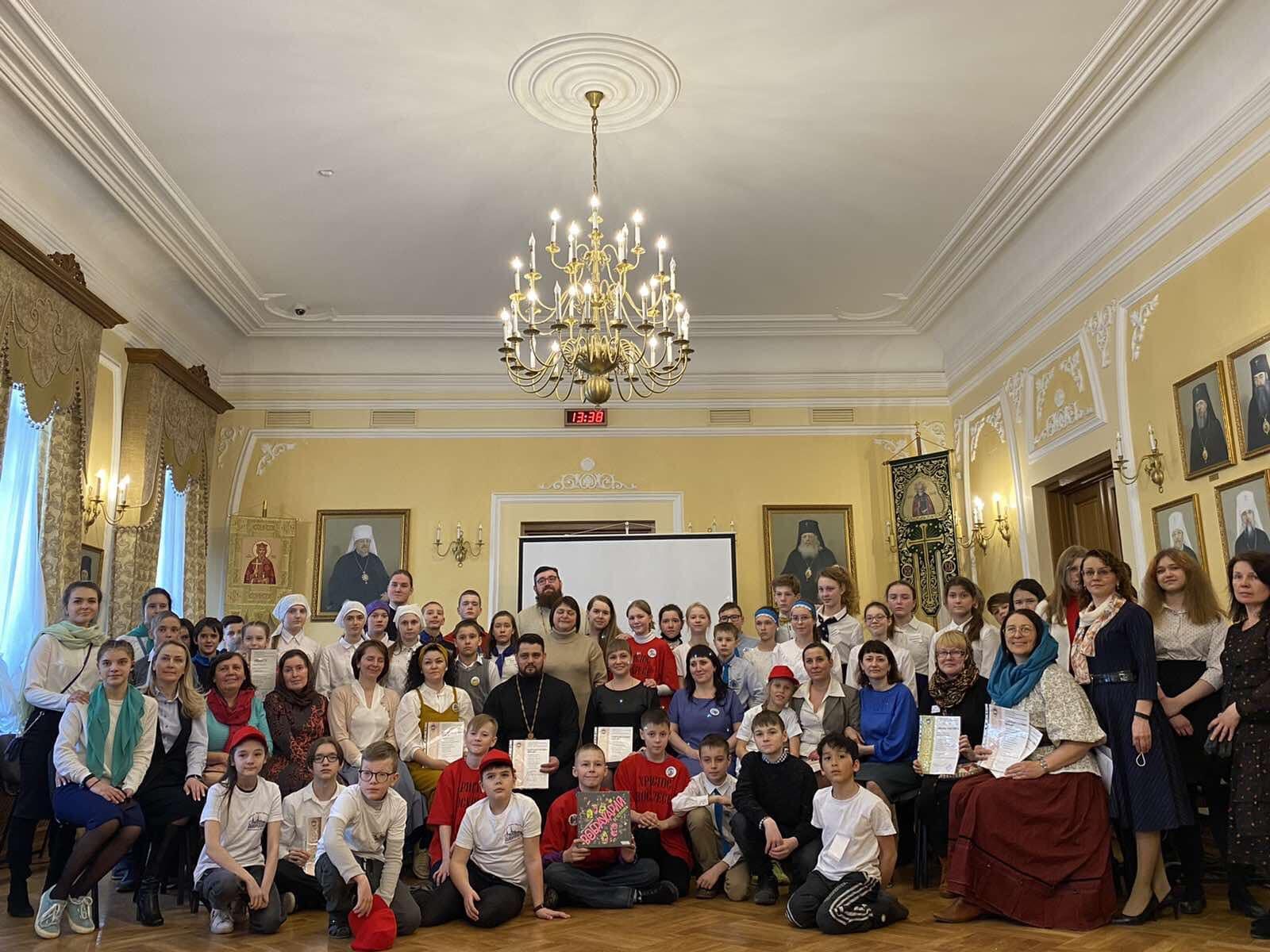 Среди учащихся воскресных школ Красноярской епархии состоялась олимпиада по ОПК