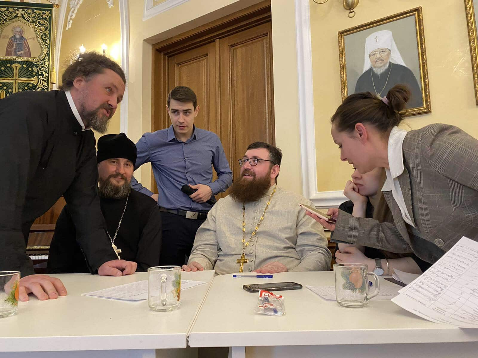 Олимпиада воспитанников воскресных школ Красноярской епархии