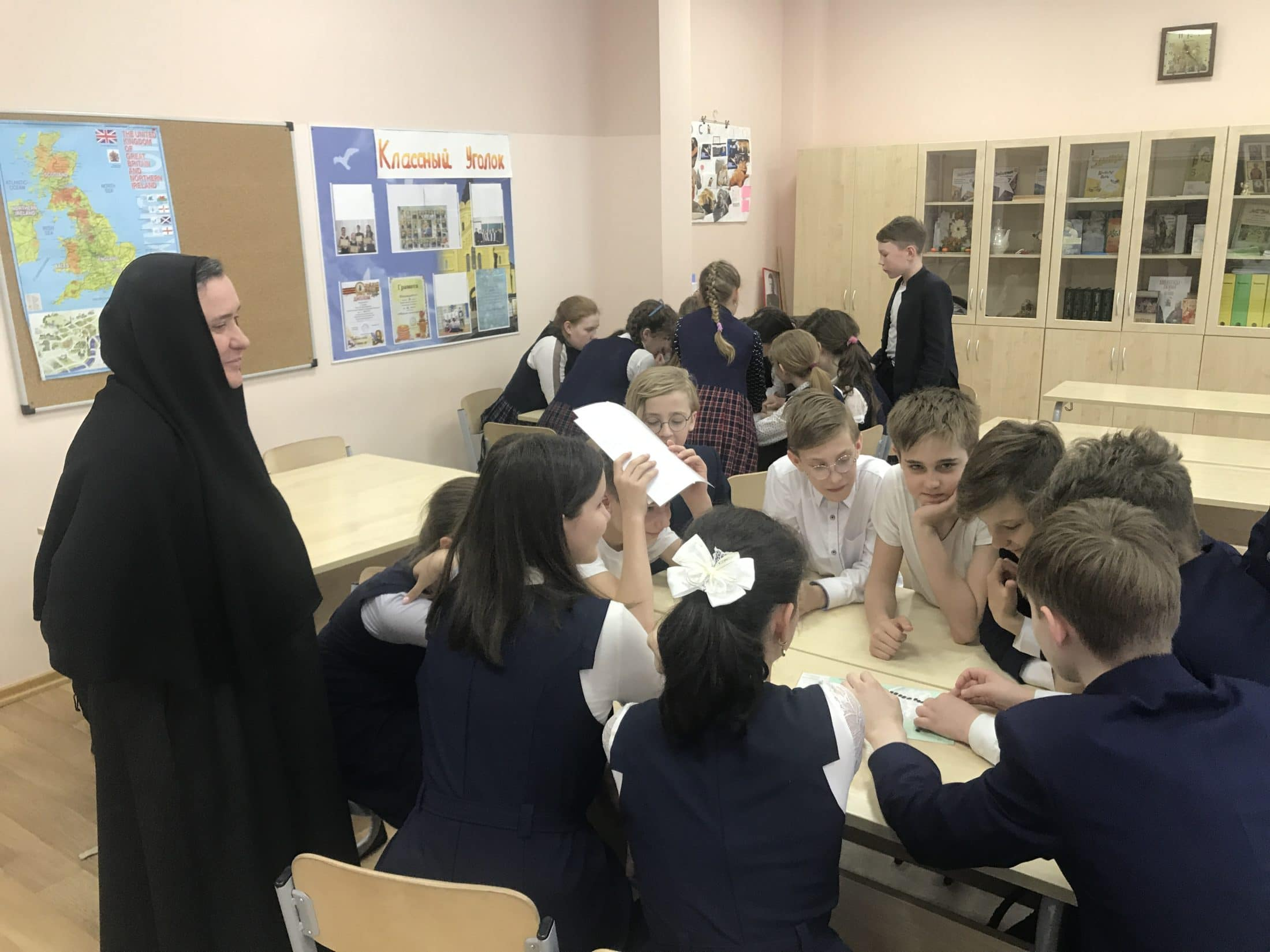 Проект «Память не знает границ» Монастырской Православной школы в Нижегородской епархии