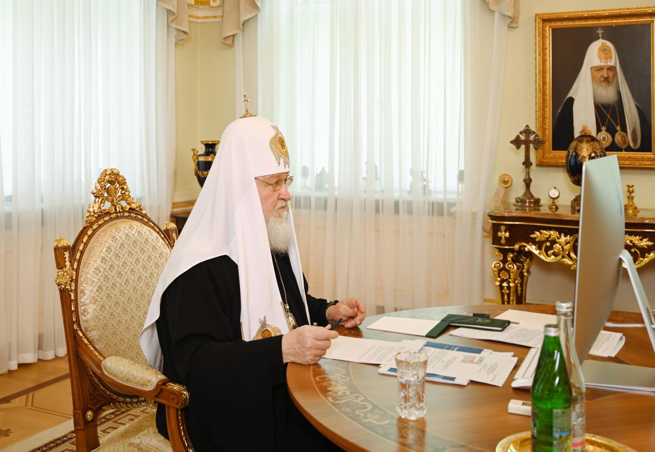 Митрополит Евгений принял участие в заседании Высшего Церковного Совета в дистанционном формате