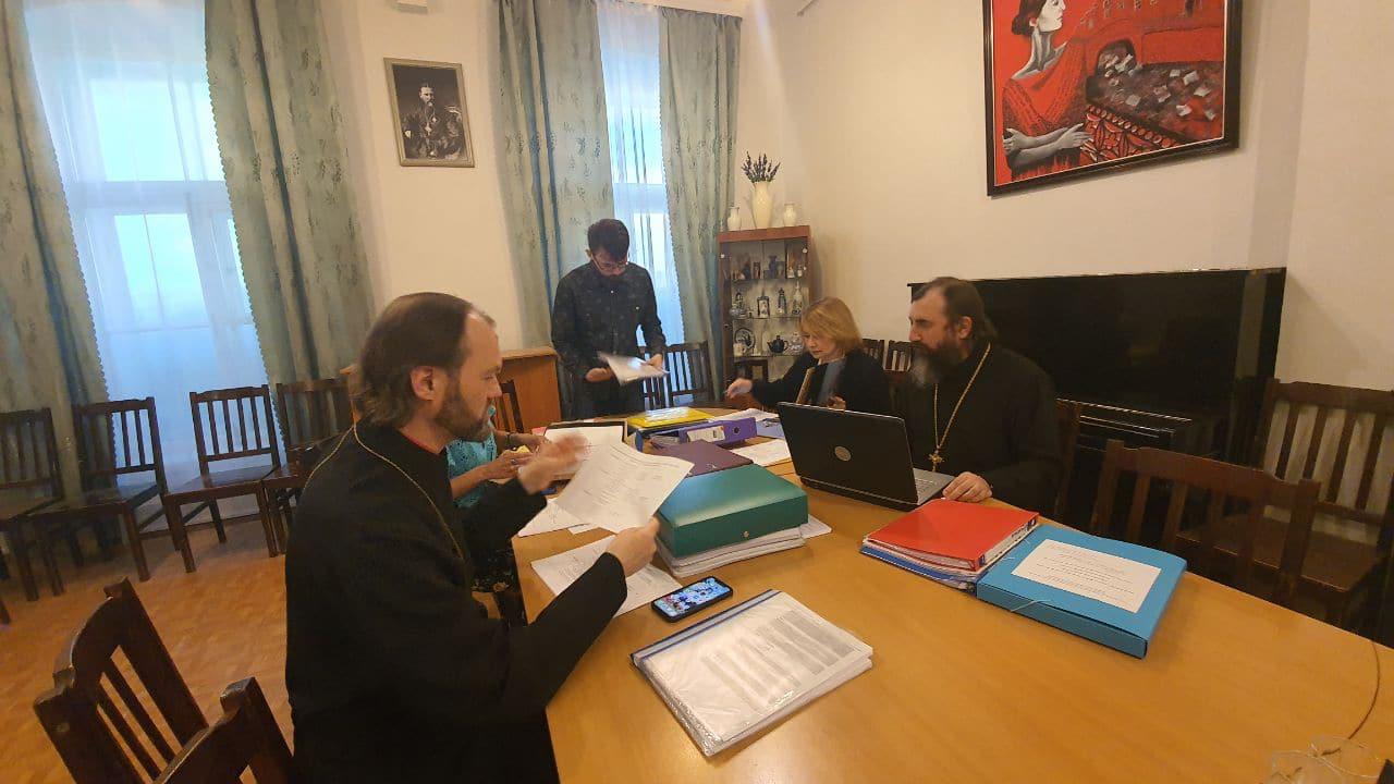 Иеромонах Трифон (Умалатов) принял участие в заседании Экспертной комиссии конкурса «За нравственный подвиг учителя» в Санкт-Петербурге