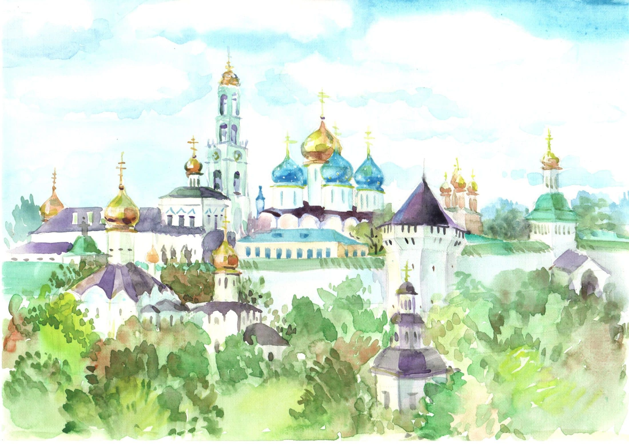 Воскресная школа Ильинского кафедрального собора г. Россоши представляет просветительский проект, посвященный преподобному Сергию Радон